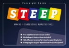 <b>Foresight Cards  Steep edition</b>,macro / contextual analysis tool