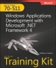 <b>Stoecker, Matthew A.</b>,Mcts Self-paced Training Kit (Exam 70-511)