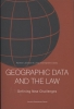 <b>Geographic data and the Law</b>,defining new challenges