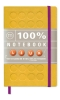 <b>100% Notebook small yellow</b>,