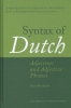 <b>Syntax of Dutch</b>,adjectives and adjective phrases